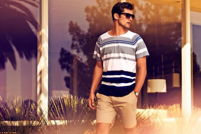H&M Sunny Getaway 2014 Men's Lookbook 2